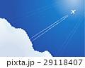 飛行機雲 29118407