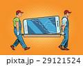 スマホ スマートフォン スクリーンのイラスト 29121524