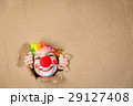 Funny kid clown playing indoor 29127408