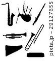 風 楽器 音楽のイラスト 29127655