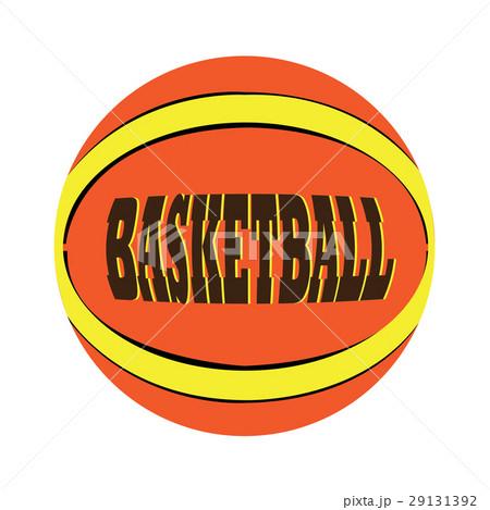 Isolated basketball ballのイラスト素材 [29131392] - PIXTA