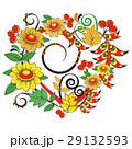 Floral ornament in Hohloma style. Russian folklore 29132593