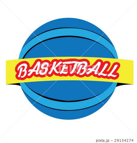 Isolated basketball emblemのイラスト素材 [29134274] - PIXTA
