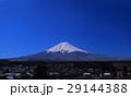 20170315雪の後の青空の白富士山 29144388