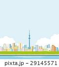 東京スカイツリーと町並み 29145571