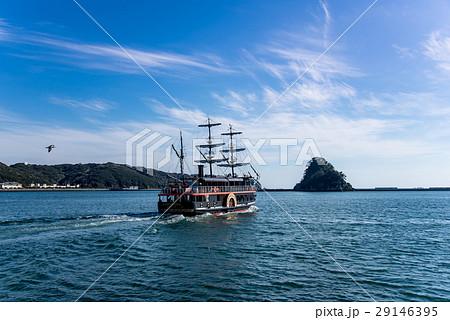 伊豆 下田の観光船 黒船 サスケハナ 29146395