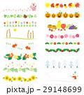 春夏秋冬の飾り罫 29148699