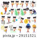 女性 中国人 チャイナ服のイラスト 29151521