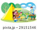家族でキャンプ 29151546