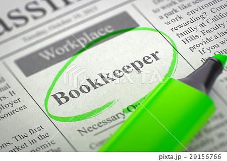 We're Hiring Bookkeeper. 3d. 29156766