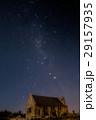 テカポ 善き羊飼いの教会 天の川の写真 29157935