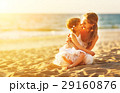 ビーチ 浜辺 おかあさんの写真 29160876