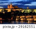 プラハ 夜景 プラハ城の写真 29162551