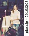 vigorous shopgirl in haberdashery shop 29168208