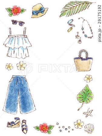 夏のイラスト素材 [29175192] - PIXTA