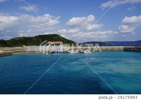 2月ケラマ諸島187阿嘉島阿嘉港 29175903