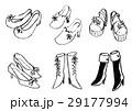 靴 レディース 女性用のイラスト 29177994