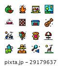 Thin line Picnic icons set, vector illustration 29179637