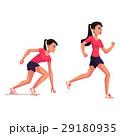 Female runner, sprinter, jogger, ready to start 29180935