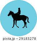 馬 馬術 動物のイラスト 29183278