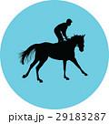 馬 ジョッキー 馬術のイラスト 29183287