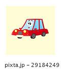 車 自動車 キャラクターのイラスト 29184249