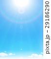 空 青空 日差しのイラスト 29186290