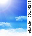 空 雲 青空のイラスト 29186295