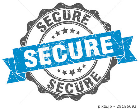 secure stamp. sign. seal 29186692