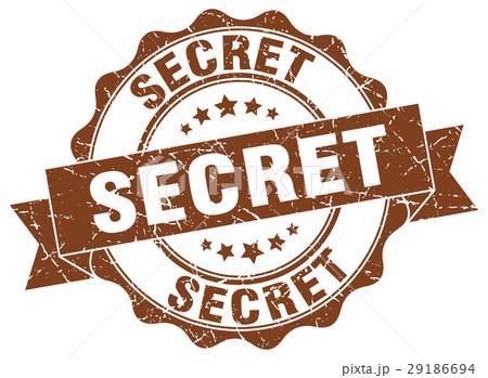 secret stamp. sign. seal 29186694