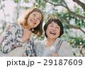 女性 笑顔 シニアの写真 29187609