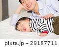 親子 父親 赤ちゃんの写真 29187711