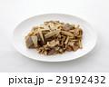 ウドと豚肉とこんにゃくのピリ辛炒め 29192432
