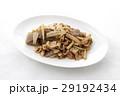 ウドと豚肉とこんにゃくのピリ辛炒め 29192434