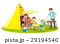 家族でキャンプ 29194540