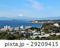 富士山 晴れ 海の写真 29209415