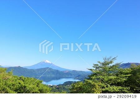神奈川県 箱根からの富士山風景 29209419