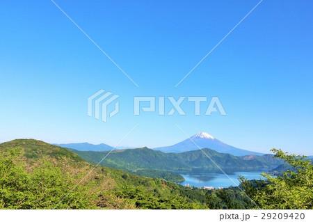神奈川県 箱根からの富士山風景 29209420