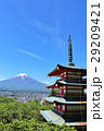 富士山 山 建物の写真 29209421