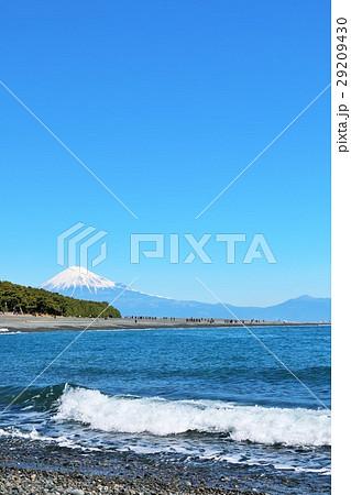 三保の松原からの富士山と海 29209430