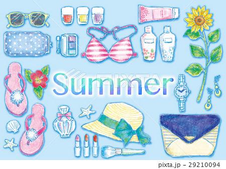 夏のイメージのイラスト素材 [29210094] - PIXTA