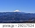 富士山 富士 冬の写真 29217524
