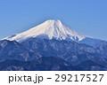 富士山 富士 冬の写真 29217527