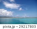 鳩間島 海 青空の写真 29217803