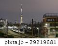 東京スカイツリー・明花(明花)と東武スカイツリーラインの夜景 29219681