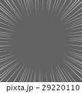 漫画・コミック風の集中線 背景素材 正方形 黒系背景 29220110