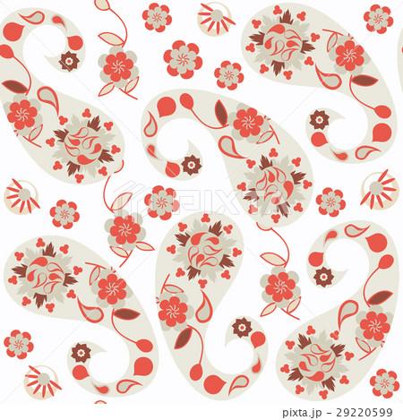 Paisley seamless pattern.のイラスト素材 [29220599] - PIXTA