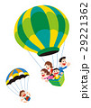 気球 家族 熱気球のイラスト 29221362