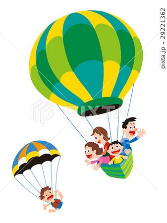 気球、家族、気球と家族、バルーン、熱気球 29221362