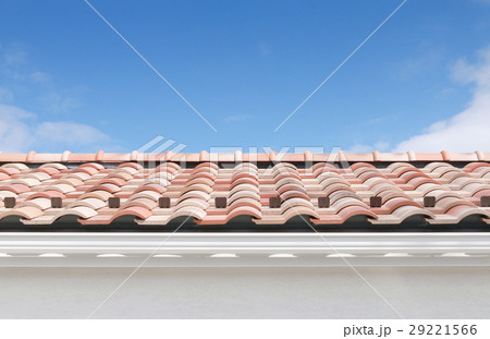 屋根と青空 29221566